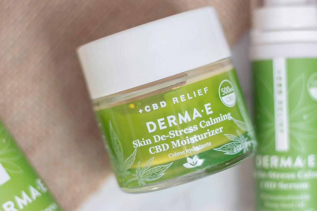 Review: DERMA E CBD Relief Skin DeStress Calming Moisturizer   A Good Hue