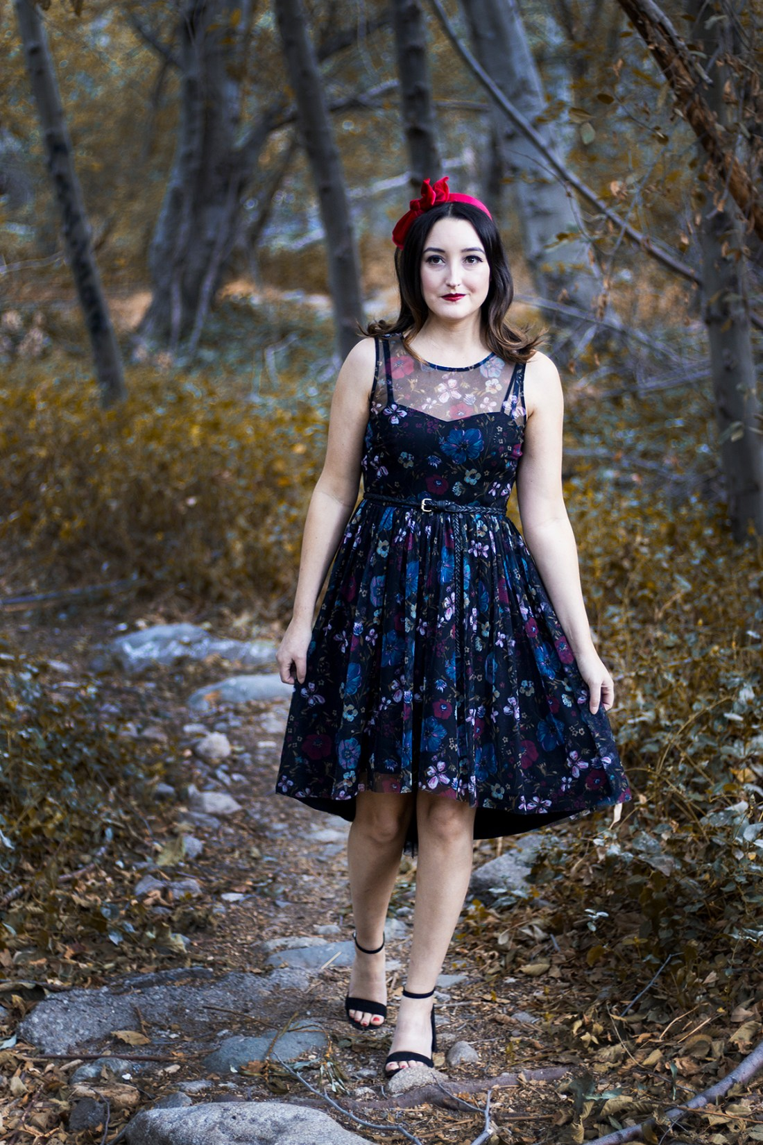 Affordable Snow White Inspired Outfit | A Good Hue