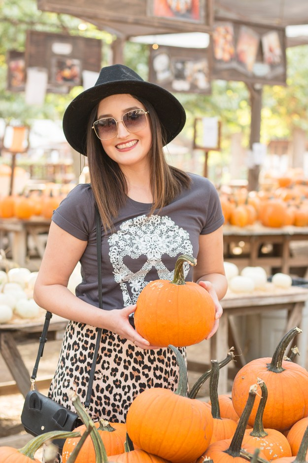 Fall Graphic Tee Style | A Good Hue