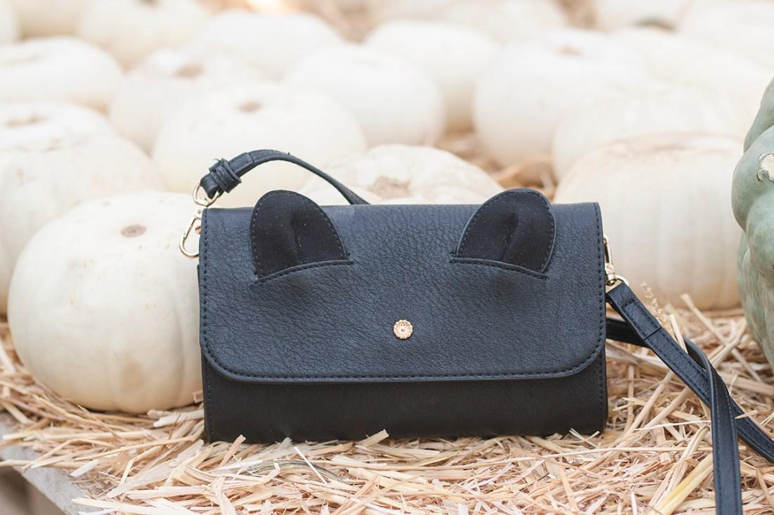 LC Lauren Conrad Iris Cat Ears Crossbody Wallet | A Good Hue