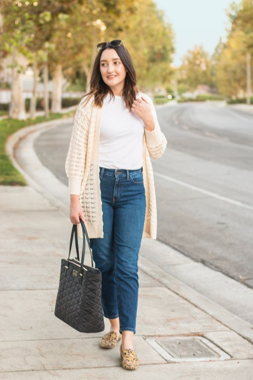 Styling Mom Jeans for Fall