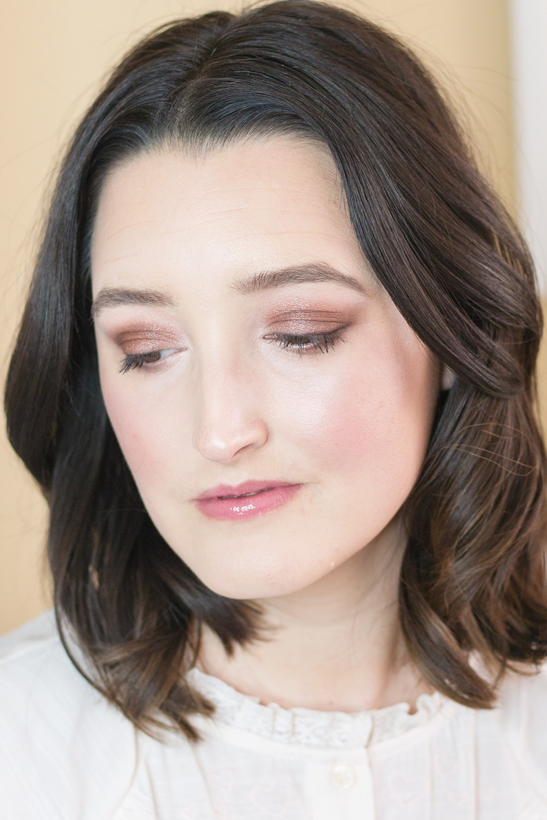 Soft Glam Makeup Look with Buxom Cosmetics | A Good Hue
