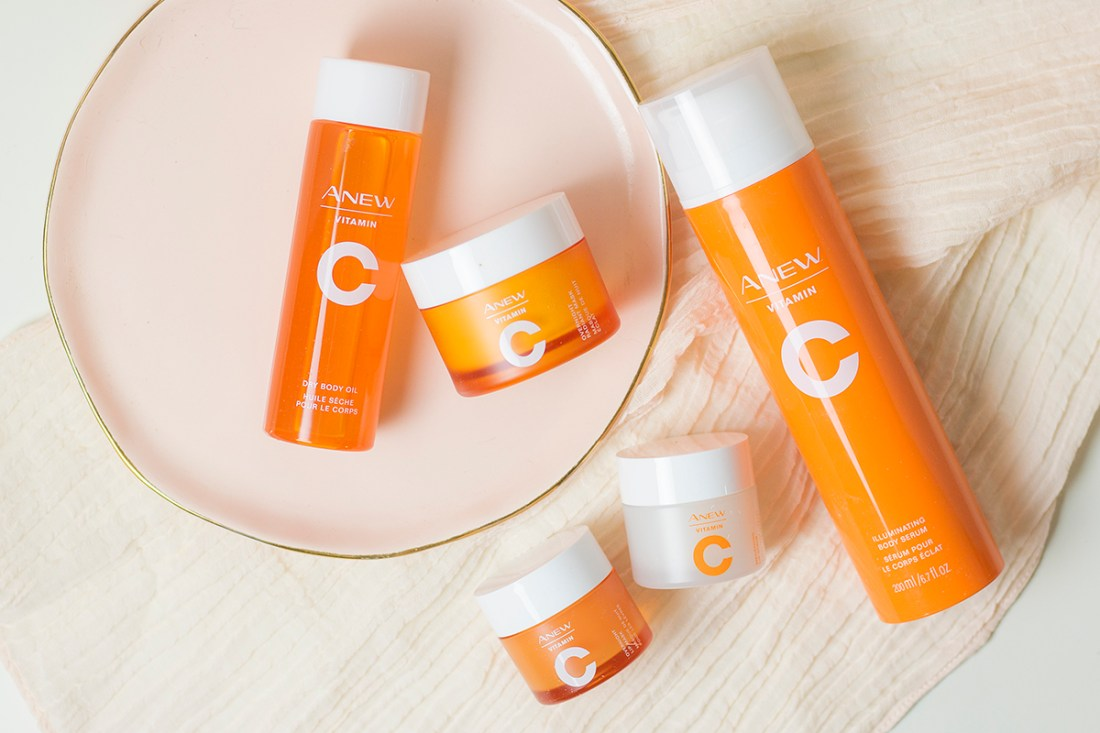Avon Anew Vitamin C Collection Review   A Good Hue