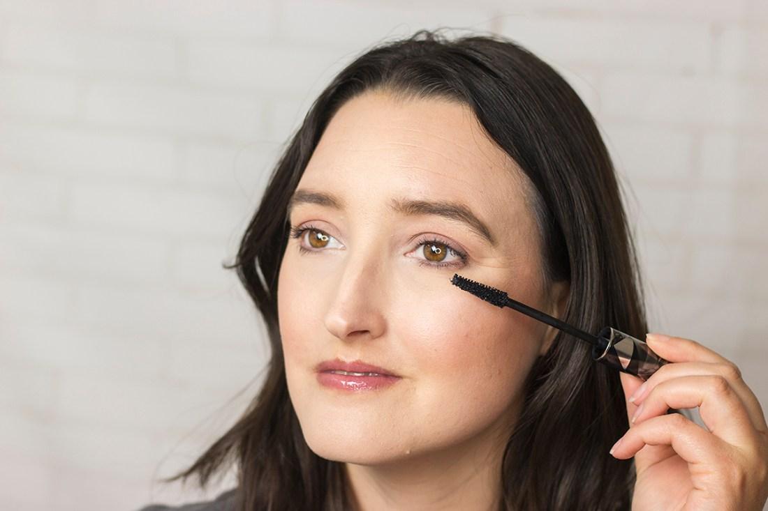 Long lashes with MAC Magic Extension Mascara   A Good Hue
