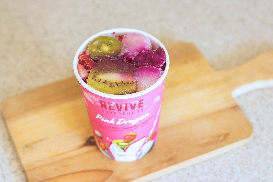 Pink Dragon Smoothie - Revive Superfoods   A Good Hue
