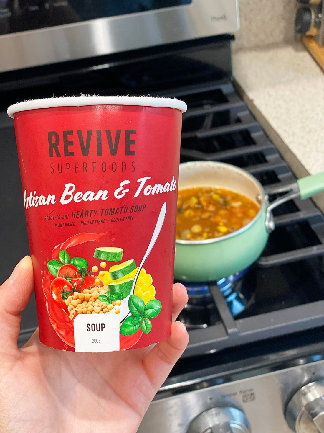 Hearty soup on-the-go with Revive Superfoods   A Good Hue