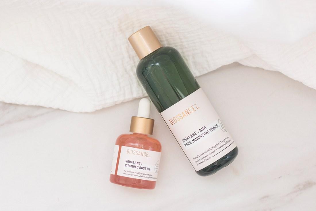 Fall Skin Routine: BIOSSANCE Squalane Skincare   A Good Hue