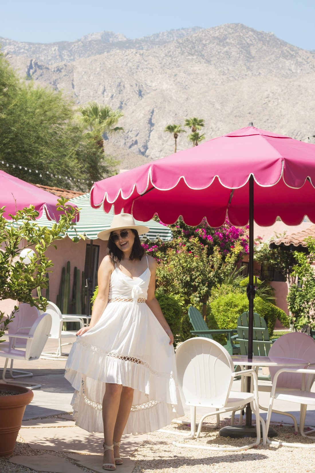 Les Cactus Hotel in Palm Springs | A God Hue
