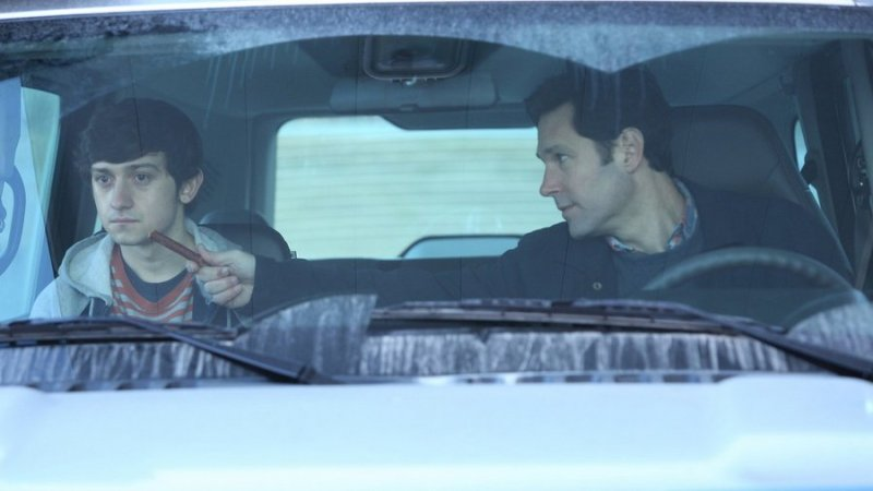 Shot from the movie The Fundamentals of Caring (2016)
