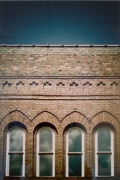 """Look Up (Downie Street)"" 2010, archival digital photograph"