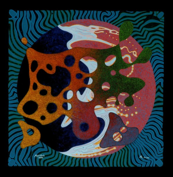 "Antonie Los, ""1969"" 2007, acrylic on masonite, 24 x 24 inches"