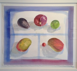 """""""Still Life"""" 1998, watercolour on paper, 19 x 22 inches"""