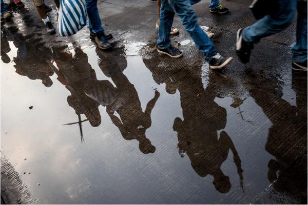 LUC FORSYTH, Reflection 2018, photograph