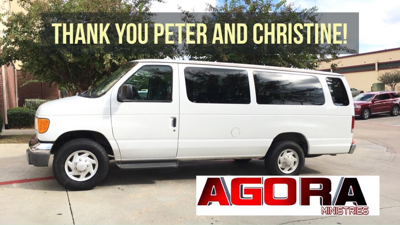 AGORA's New Van