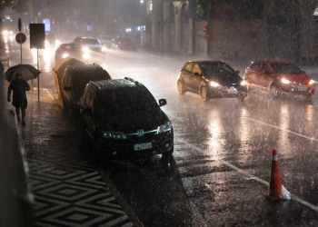 Chuva forte atinge Porto Alegre. Crédito: Cesar Lopes/ PMPA   Acervo Agora no RS