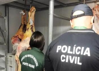 Operação aconteceu no Bairro Santa Tereza. Foto: Divulgação/Polícia Civil