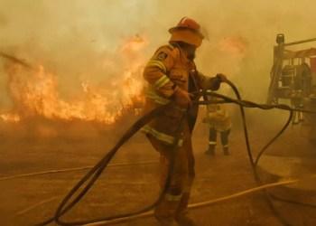 Incêndios na Australia. Foto: NSWRFS