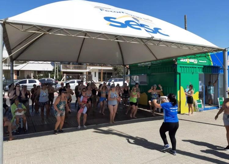 Estação Verão Sesc 2020. Foto: Divulgação