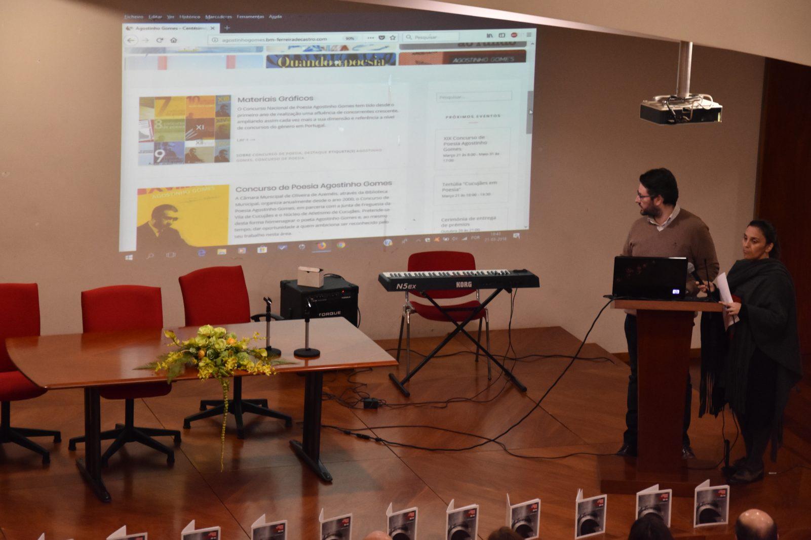 Apresentação do site agostinhogomes.bm-ferreiradecastro.com