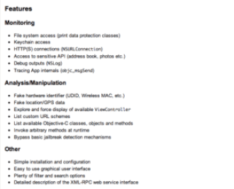 iOS Application Security Part Two - Gathering Information Of