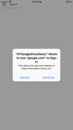 Using Google Drive in Your App | agostini tech