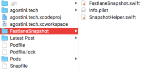 Automatic Screenshots With fastlane snapshot | agostini tech