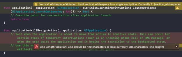 Using SwiftLint | agostini tech