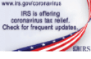 IRS is offering corona virus tax relief, English