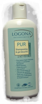 Shampoing douche Logona Pur
