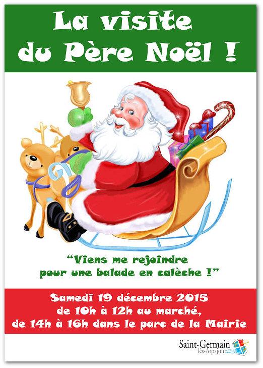AGPE la visite du Père Noël !