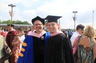 Dr. Parks and I at FSU Graduation