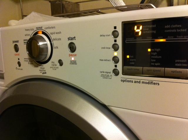 Maytag 2000 Washing Machine Control Panel