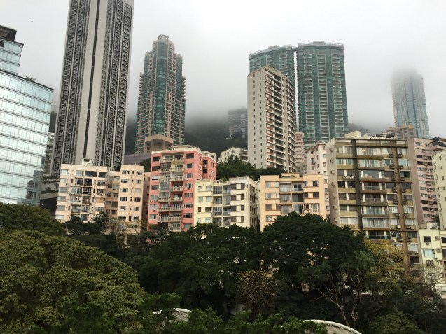 Skyline from Hong Kong Park
