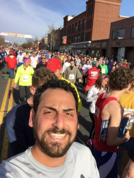 Running the Manchester Road Race -- quickly!