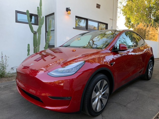 My spaceship, I mean Tesla Model Y