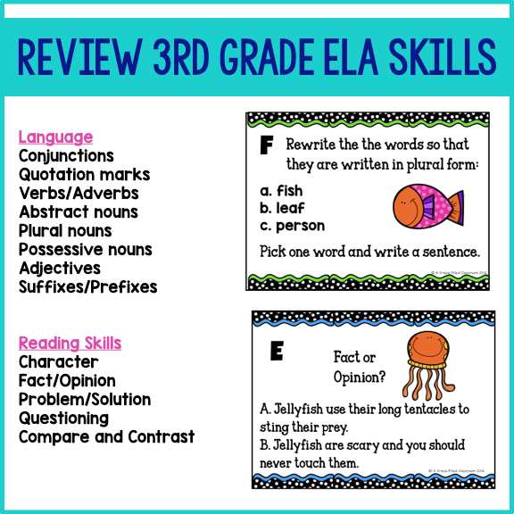 suffix and prefix task cards