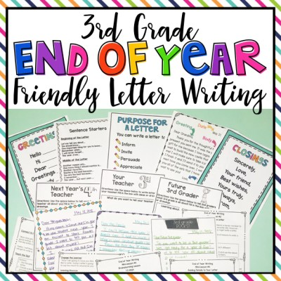 End Of Year Letter Writing