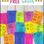 free growth mindset notes