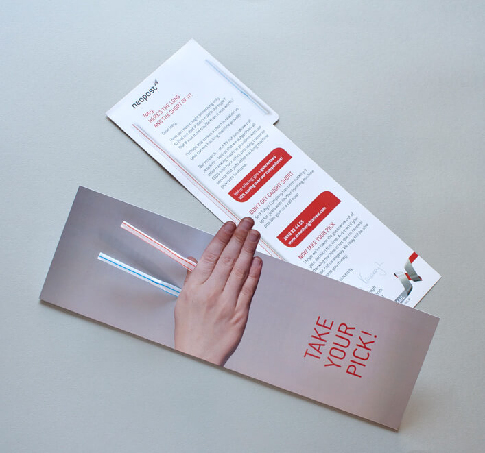 Neopost_Direct Mail_Take your pick