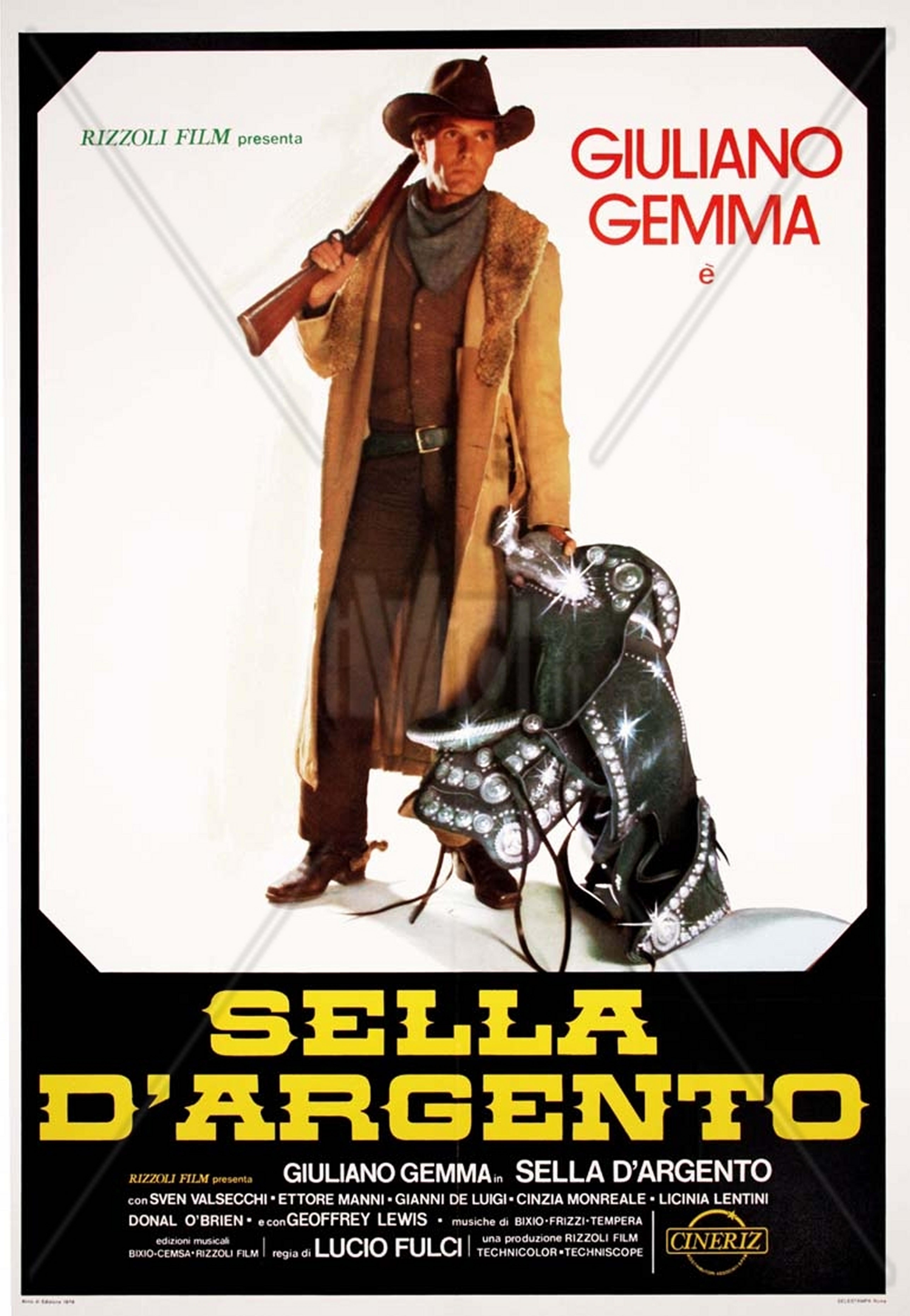 Poster do filme Sela de Prata
