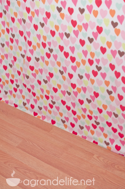 DIY Valentines Day Photography Backdrop