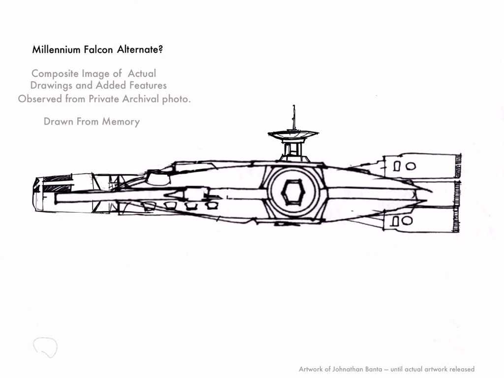 The Missing Millennium Falcon Agrapha Productions