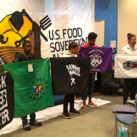 Building Power: Advancing a People's Agenda for Food Sovereignty & Climate Justice