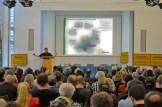 """Vortrag von Reinhild Benning, BUND e.V.zum Thema """"Arme Sau: Industrieware Tier – Situation der Massentierhaltung"""""""