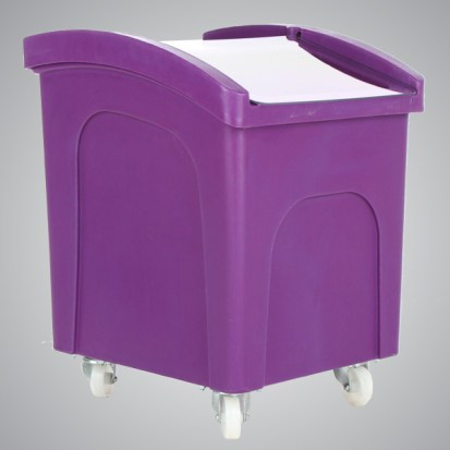 wheeled feed bin from agratech