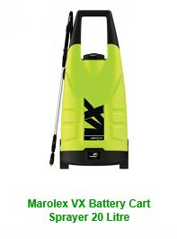 Marolex VX Battery Cart Sprayer 20 Litre