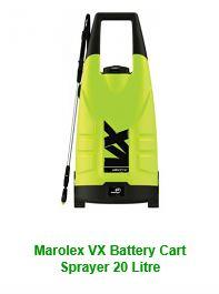 Marolex VX Battery Cart Sprayer 20 Litre