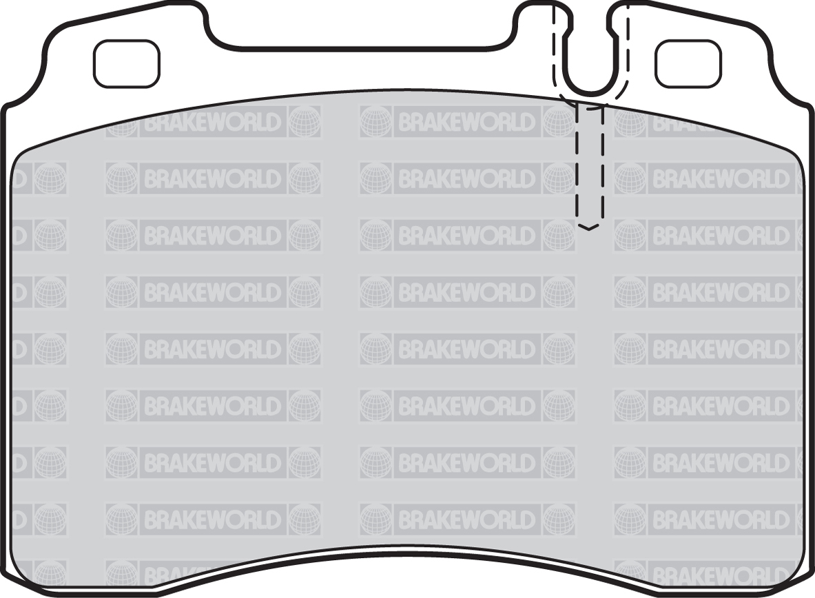 Oem Spec Front Rear Pads For Mercedes Benz E Class T210