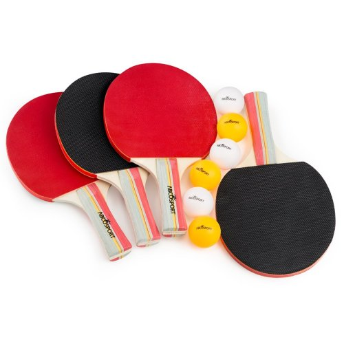 Abco Tech 2 or 4 Players Table Tennis Set