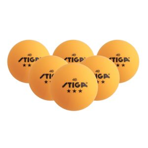 STIGA 3-Star Table Tennis Balls